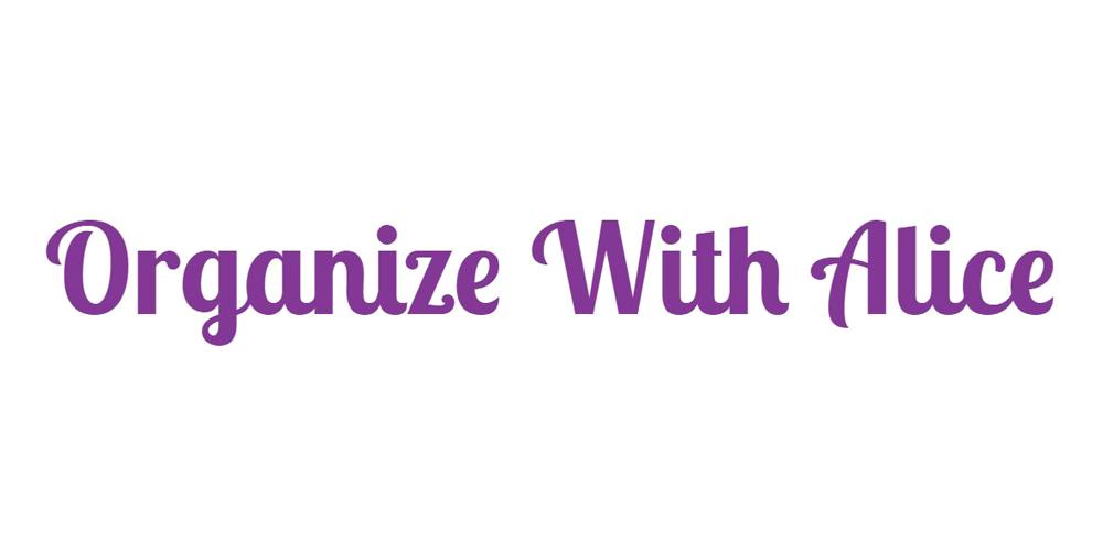 Organize With Alice Logo